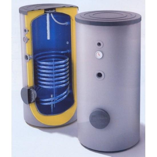Enamel boiler L 200 boiler room vertical with 1 heat exchanger