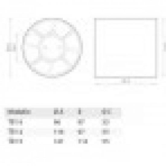 Bathroom fan for pipes Φ120 SO.ERRE