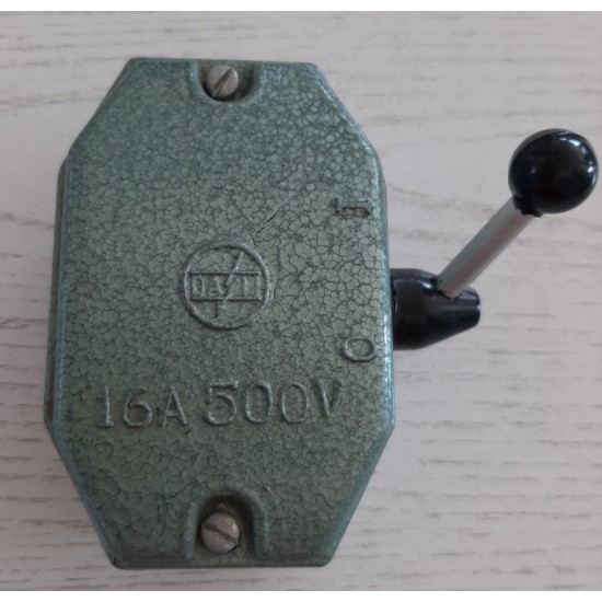 ON-OFF switch 16A gray