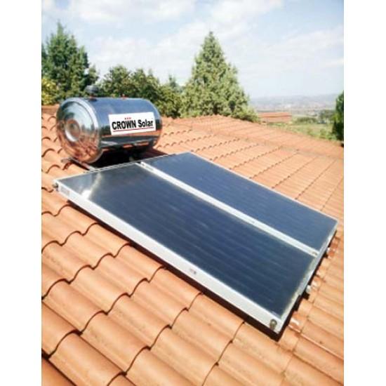 Solar base for tiled roof