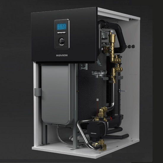 LCB700 LS 28kw floor oil condensing boiler (with circulator and expansion tank)