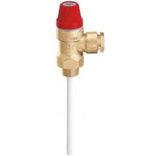 Temperature pressure pressure valve 1/2 '' 10bar WATTS for solar