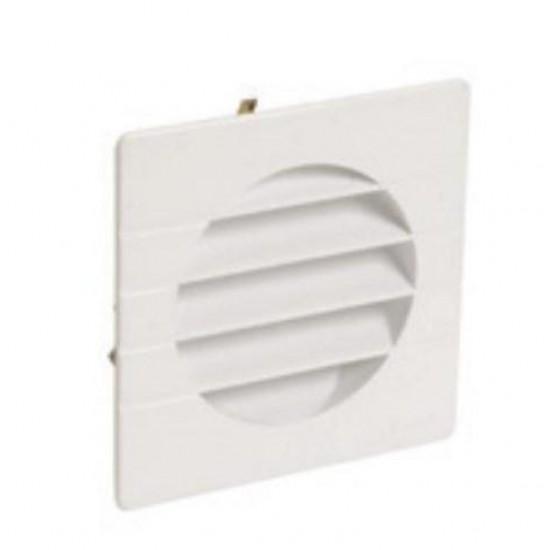 Plastic hood ventilation louver