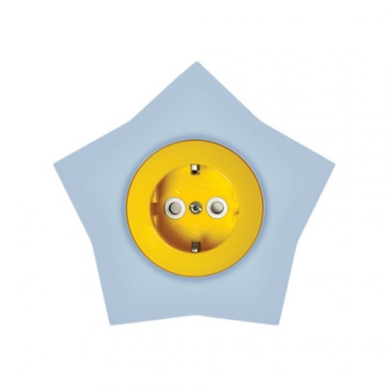Souk socket with  protection - star