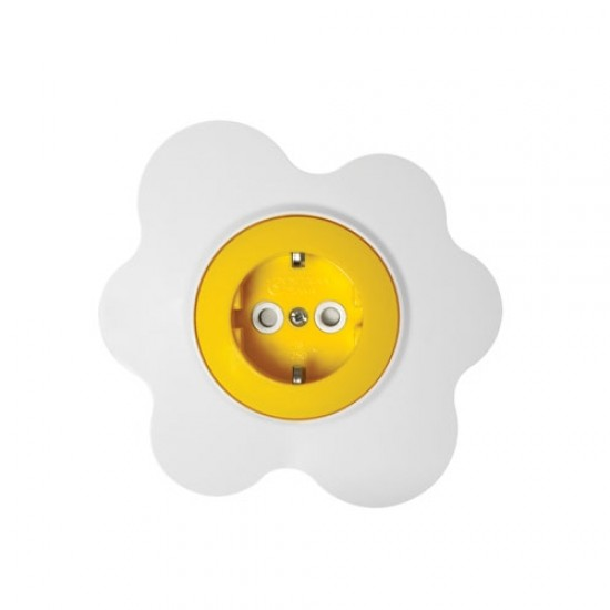 Souk socket with  protection -  egg