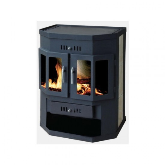 Wood energy stove KZS 400K with oven
