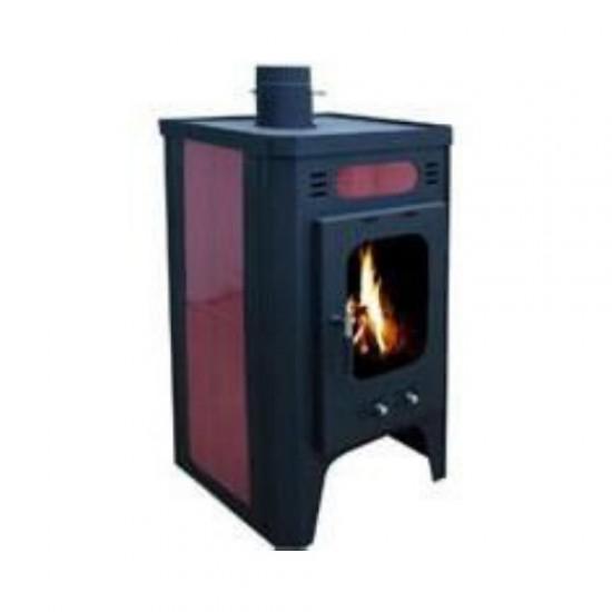 Wood energy stove steel KZS 624 10KW
