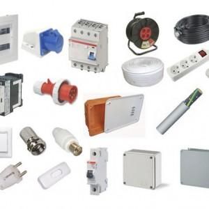 Electrical Equipment, Plumbing items